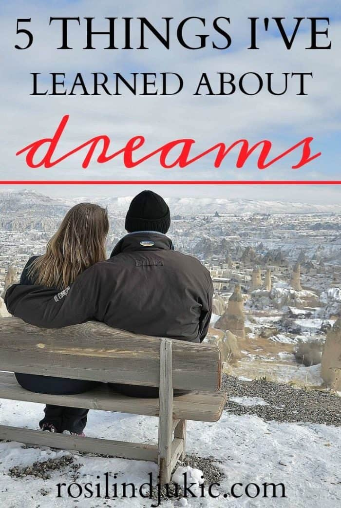 Birthing a dream can be both exhilarating and excruciating. Sometimes the process is discouraging. Here are 5 things I've learned about dreams.