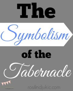 Sometimes parts of the Old Testament can seem tedious and repetitious, but if we look beyond the words on the page, sometimes we see sybmolism that suddenly makes us stand in awe!