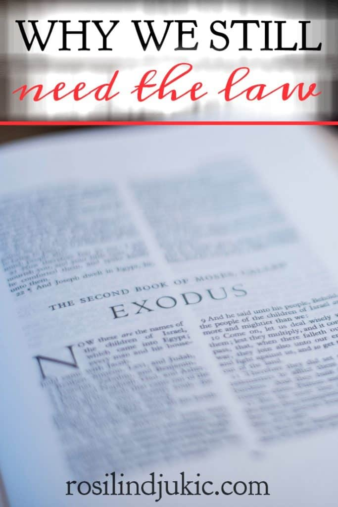 If we are under grace, why do we still need the law? Do Old Testament commands still apply to us to today? If so, how do Paul's words figure into that fact? #alittlerandr #bible #onlineBiblestudy #exodus #Bible