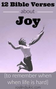 12 Bible Verses About Joy