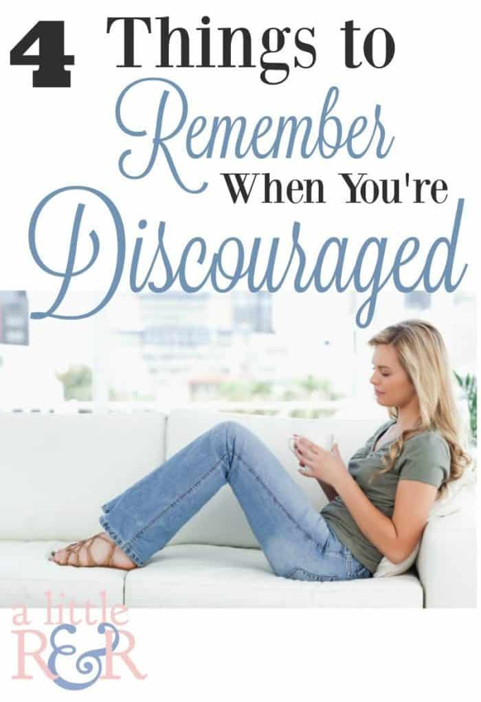 Are you feeling discouraged? Here are 4 things you need to remember from the book of Job
