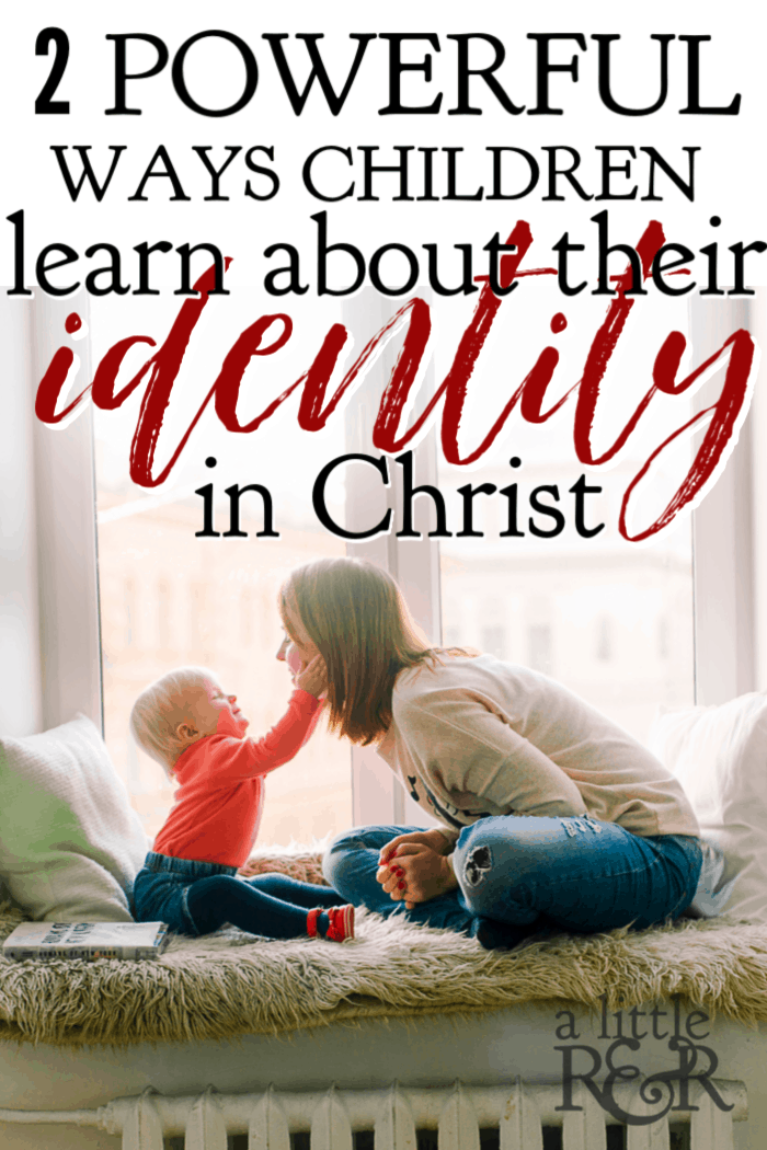 Here are two ways we can begin helping our children learn who they are in Christ Jesus and lay a strong foundation for them to become powerful leaders in their generation.  #alittlerand #identityinChrist #motherhood #parenting #Christian #Christianliving #spiritual #spiritualgrowth #warroom  #Bible #God #jesus