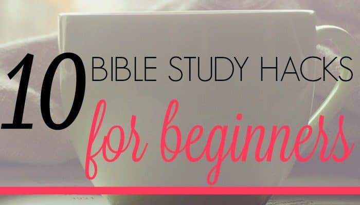 Bible Study Hacks preview