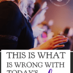 There is one thing that is wrong with worship in today's culture, and it is robbing us of a Christian life lived with depth and meaning that glorifies God. #alittlerandr #worship #church #God #Jesus #Bible