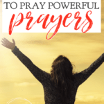 Learning how to pray can seem daunting or illusive, but it doesn't have to be when you follow these 5 amazing tips to pray powerful prayers. #alittlerandr #warroom #prayer #theLordsPrayer