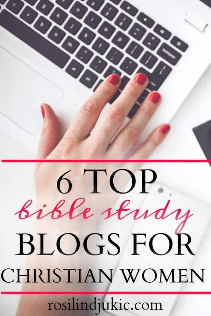 Are you looking for some good Bible study blogs to follow that have good teaching and solid theology? Here are 6 that I highly recommend.