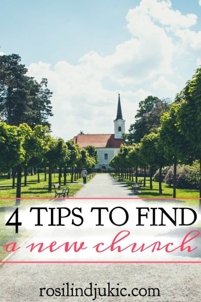 Wow! This is so helpful! Are you looking for a new church? Here are 4 tips to help make it easier, plus a printable checklist!