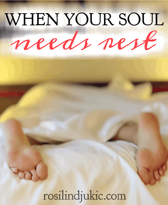 Are you soul-weary? There are times when our soul needs rest, and to be able to release all of the burdens and pain we carry. Join me for this new study!