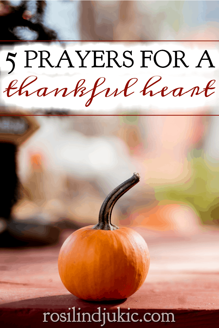 Learn how to thank God for the harder times in life as well as the easy ones with this online Bible study: 5 Prayers for a Thankful Heart. #alittlerandr #thankfulness #thanksgiving #onlinebiblestudy