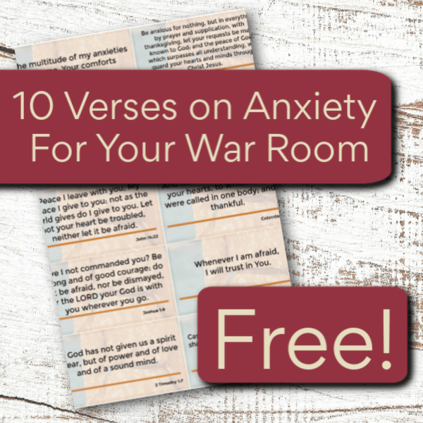 Get this 30-Day Prayer Challenge for Anxiety today!Get 20% off with the coupon code: anxiety