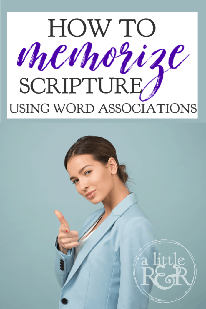 For many people it is very hard to memorize scripture. Here is how to memorize scripture by using word associations like the ones I illustrate here. #alittlerandr #memorize #renewingthemind #warrroom