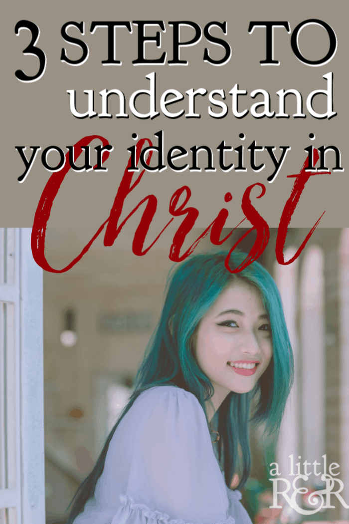 Understanding your identity in Christ is critical to your ability to live in true freedom from your past and the guilt and condemnation that so frequently plagues us. In Romans 6-8 we discover three steps to walking in our new identity in Christ. #alittlerandr #identityinChrist #onlineBiblestudy #WomensBiblestudy #Romans