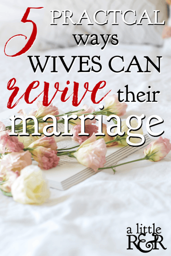 When life gets messy and weary, intimacy is often put on the back burner. Here are five practical ways wives can begin reviving intimacy in their marriage. #alittlerandr #marriage #marriagetools #marriedlife #marriageadvice  via @alittlerandr