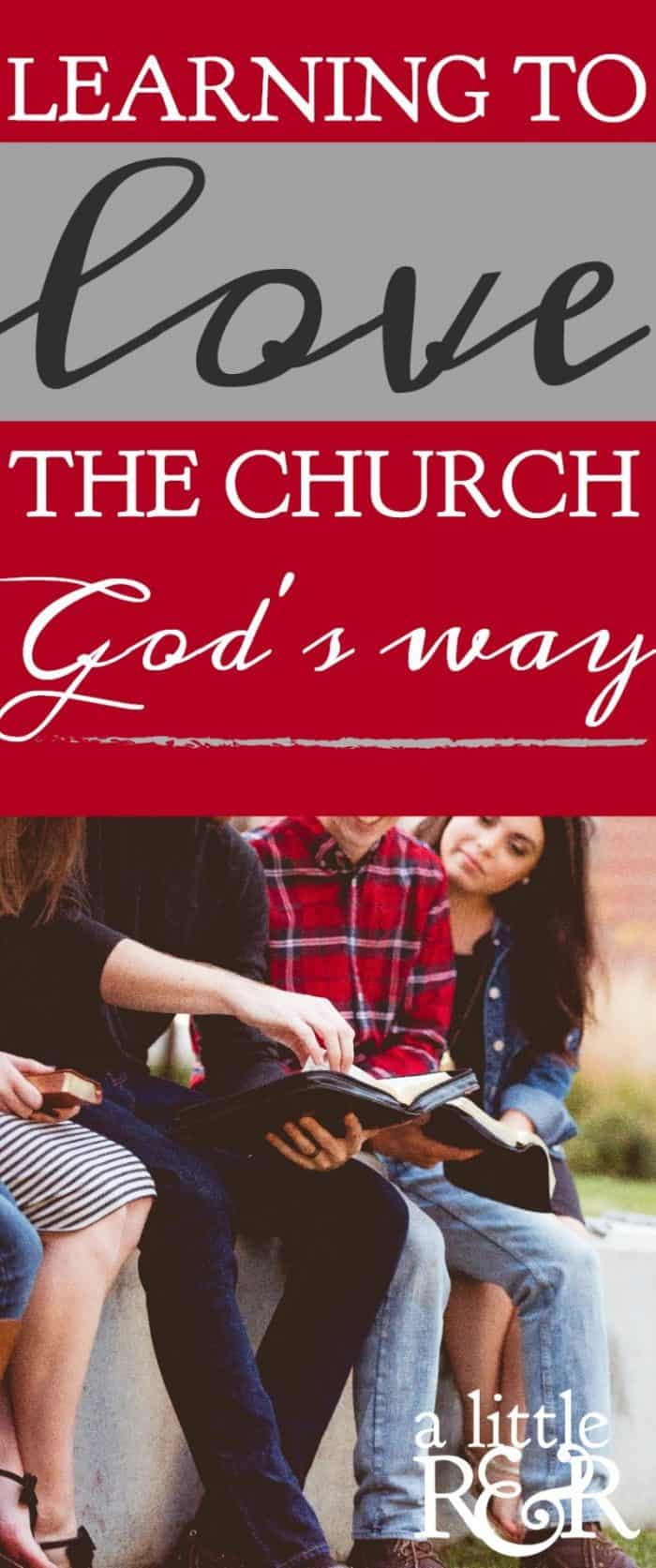 We can allow our negative experiences in the church to disillusion us, or we can learn to love the church God's Way. Here is a resource that will help you to see the church through God's eyes.