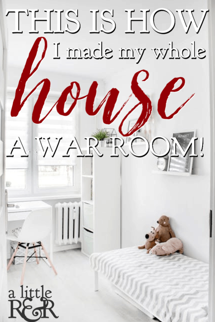 6 Amazing Prayers to Make Your Whole House a War Room. Here are 6 powerful prayers to pray while you clean that will turn your whole house into a war room. Stop viewing housework as a menial task and begin seeing it as beautiful worship as you pray over every room of your house. #alittlerandr #warroom #prayer #homemaking