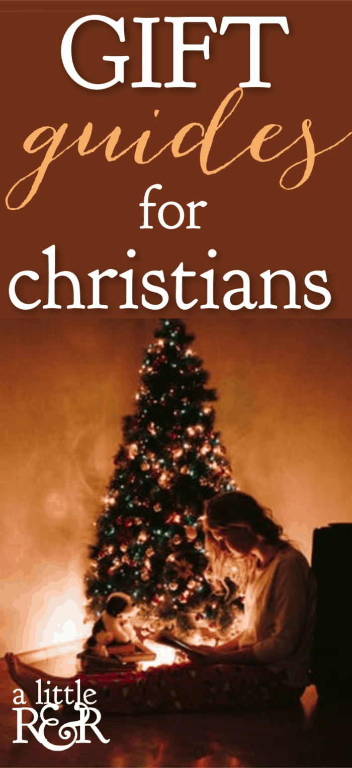 Here are gift guides for Christians filled with meaningful gift ideas that will remind your loved one of how much you love them each time they see it. #alittlerandr #gifts #giftguides #Christmas #christians