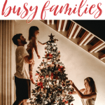 Here are five fun, Christ-centered, Christmas activities for busy families who are looking for ways to have a minimalist but meaningful Christmas. #alittlerandr #Christmas #Christmasactivities #kidfriendly