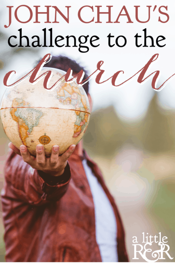 John Chau's death presents the modern church with a sobering challenge and a series of probing questions we must ask ourselves about our faith and the Bible. #alittlerandr #JohnChau #martyrdom #missions #missionaries