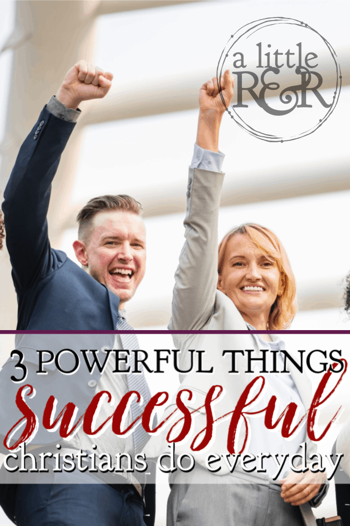 If you want to be a successful Christian there are three very important things the Bible instructs all successful Christians do everyday. #alittlerandr #christians #Bible #meditation #success