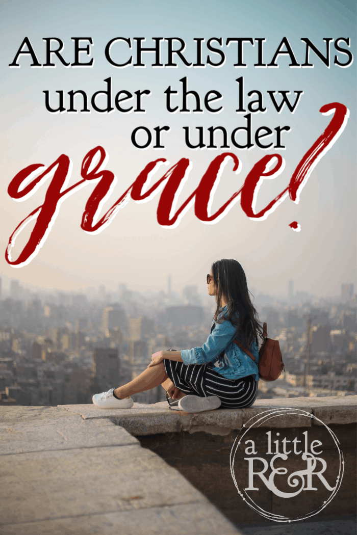 Are we under the law or under grace? Paul addressed this, but what does it mean for Christians today and does it absolve us from the Old Testament? #alittlerandr #grace #oldtestament #onlineBiblestudy #Bible