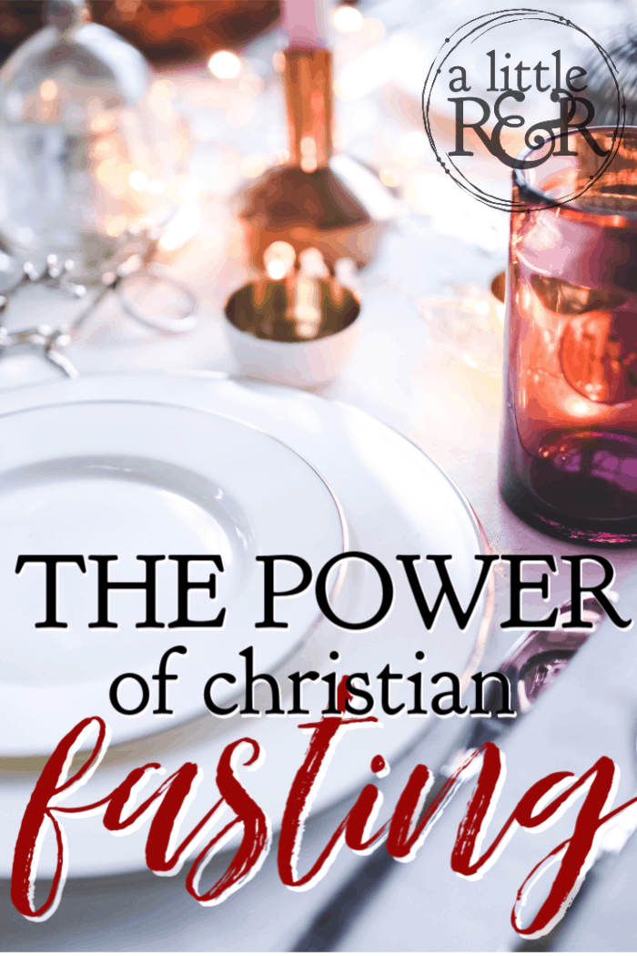 Christian fasting is one of the most neglected of Christian fasting, and yet it is such a powerful weapon of spiritual warfare. Here is how and why. #alittlerandr #fasting #christianity #spiritualwarfare #warroom