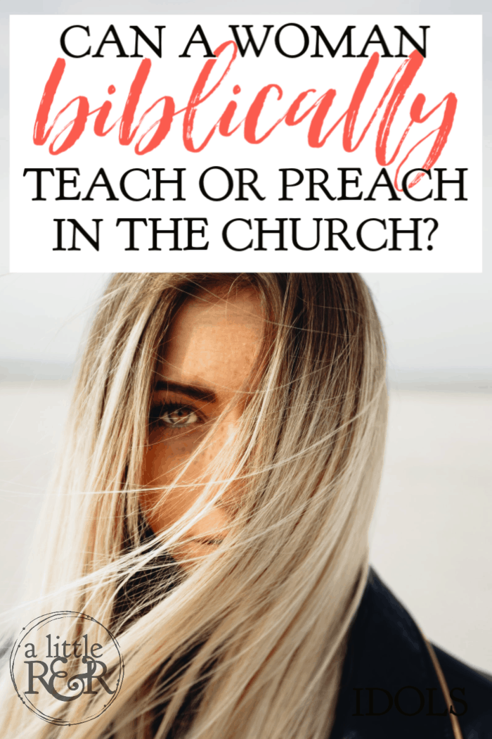 The role of women in Christian ministry has long been a matter of debate. The defining line of gender roles in the church become more blurred with each passing year. The question is, can a woman biblically teach or preach in the church? #alittlerandr #womeninministry #women #genderroles #preach #church