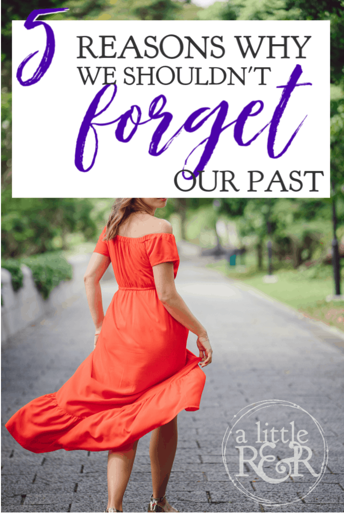 There is a great push for us to forget our past mistakes and injustices, even among Christians; but Scripture shows us why we shouldn't forget our past. #alittlerandr #OnlineBibleStudy #identityinChrist #Psalms via @alittlerandr