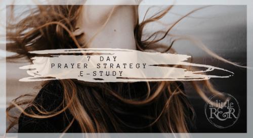 7 Day Fervent Prayer Strategy Online e-Study - A Little R & R