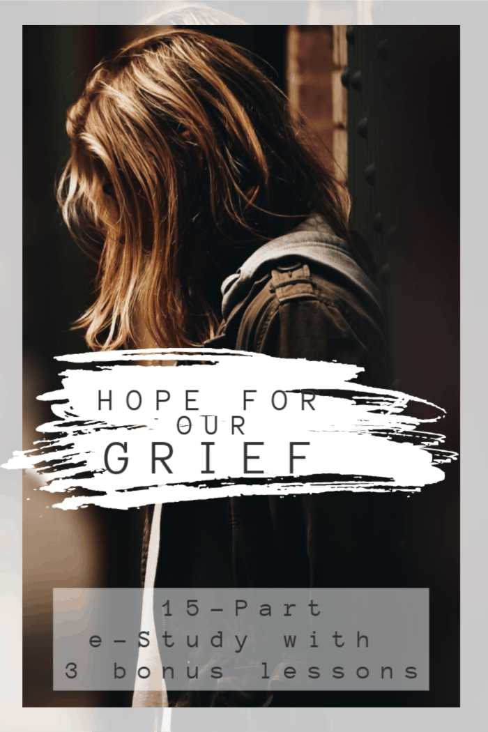 In this eStudy, we examine how in our grief we still cling to the hope that Christ brings through eternal life - giving us hope in our grief. #alittlerandr #grief #loss via @alittlerandr