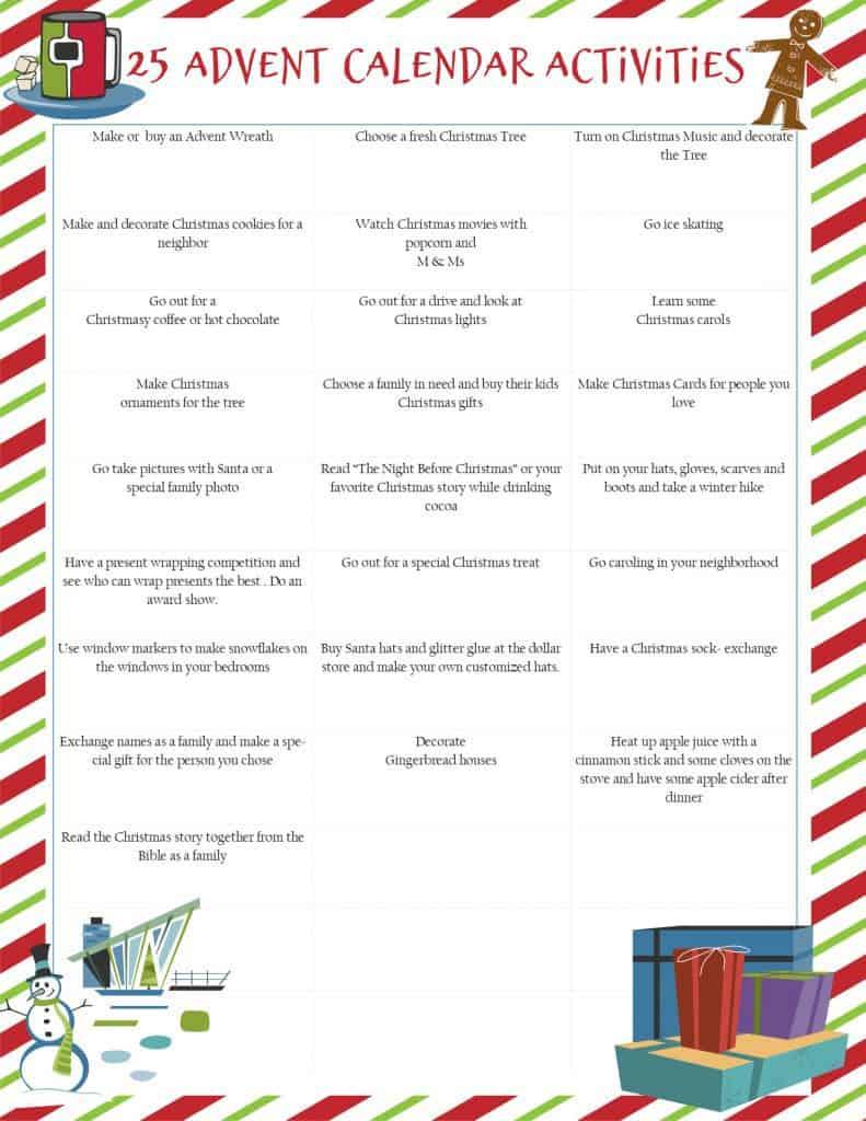 Grab these fun and creative Advent Calendar ideas today and make the Christmas season memorable for the whole family! #alittlerandr #advent #calendar #Christmas #parenting #parentinghacks