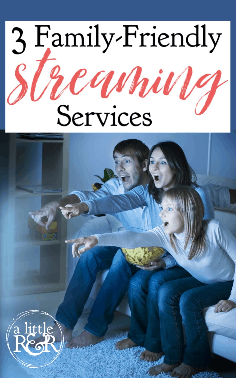 If you're tired of Netflix, Disney, Hallmark, and PBS pushing their agendas on your family, here are 3 family-friendly streaming services that offer clean, godly entertainment. #alittlerandr #netflix #hallmark #disney #streaming #tv #movies