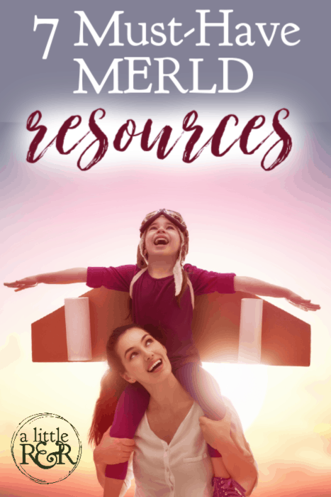 After countless hours of research, I have narrowed down my list of books and resources to these 7 must-haves. If your child has a language delay, here is your first stop to find the resources you need. #ALittlerandr #MERLD #Languagedelay #Homeschooling #specialneedshomeschooling via @alittlerandr