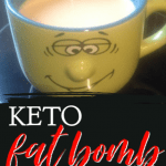 Keto fat bomb tea is a delicious and quick way to help you meet your fat macro, promote satiety, increase mental clarity, and give you the energy you need on the Ketogenic diet. #alittlerandr #keto #ketodiet #fatbomb