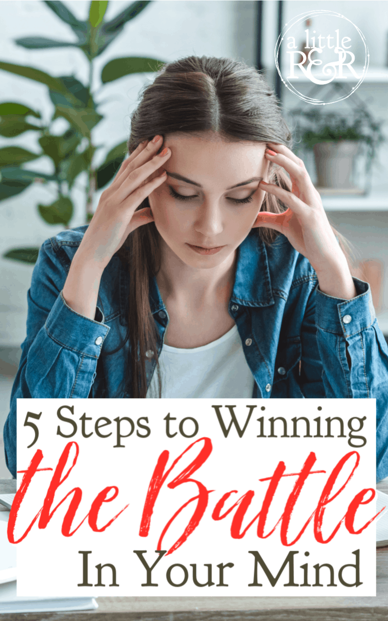 When you begin to engage in spiritual warfare, you must first win the battle in your mind. Here are 3 steps to help you win the victory. #alittlerandr #spiritualwarfare #renewingthemind #Bible #meditation #Bibleverses
