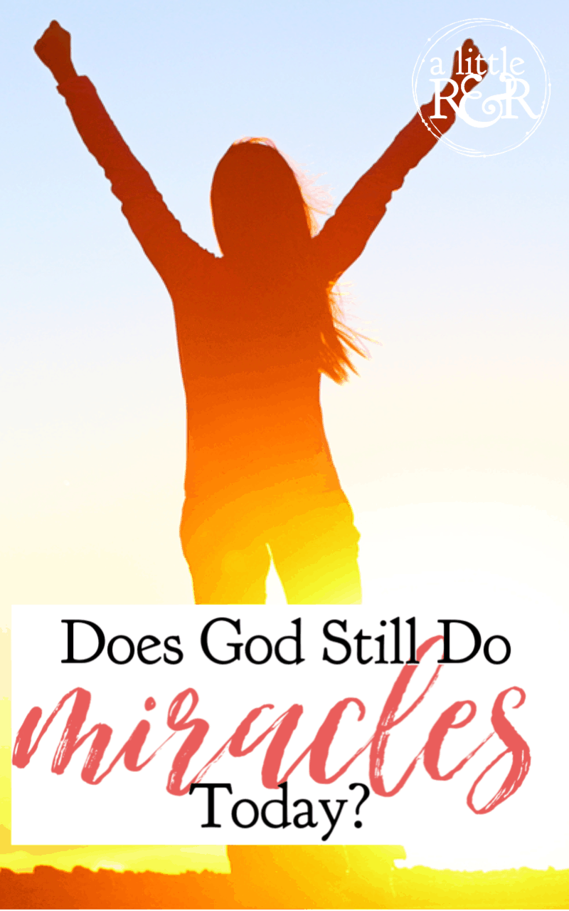 While evangelical Christianity is divided on this question it is one that demands a clear answer. Does God still do miracles today and why? #alittlerandr #miracles #OnlineBibleStudy via @alittlerandr