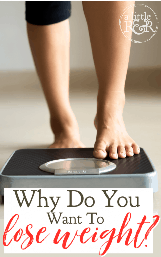 Why do you want to lose weight? This question utterly revolutionized the way I viewed weight loss as a Christian. And this is what I learned. #alittlerandr #weightloss #keto #adrenalfatigue #chronicillness #contentment #Bible