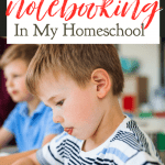 Have you heard of notebooking and are not sure how it works and why it is so important? Here is how I use notebooking in my homeschool and why I love it so much! #alittleradnr #notebooking #notebookingpages #artnotebooking #homeschool #MERLD #specialneedshomeschooling