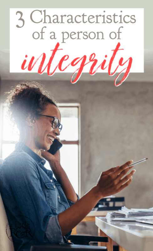 """These characteristics of a person of integrity are rare and valuable in this culture of no absolutes, """"my truth"""", and white lies. #alittlerandr #integrity #character #psalms #onlineBiblestudy via @alittlerandr"""