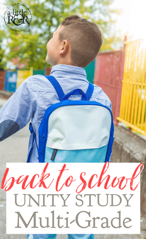Child carrying backpack going to school holding adult's hand