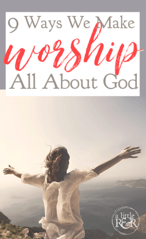 The Psalms teach us how to make worship all about God, helping to get our egos out of the way to lead a new generation in the ways of God. #ALittleRandR #Worship #Psalms #OnlineBibleStudy via @alittlerandr