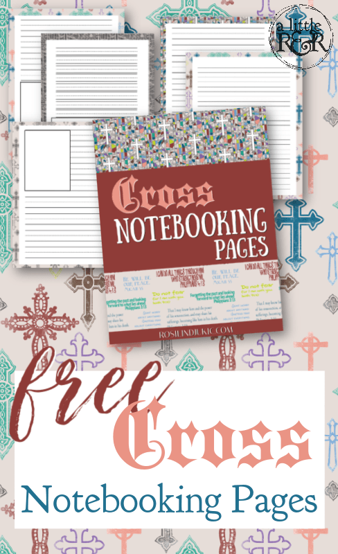 Notebooking pages are a great homeschooling tool to help with creative writing, and comprehension. Get these free Cross Notebooking Pages today! #alittlerandr #notebooking #printables #reformationday #MartinLuther #homeschooling #MERLD #specialneedshomeschooling #journaling #artjournaling via @alittlerandr