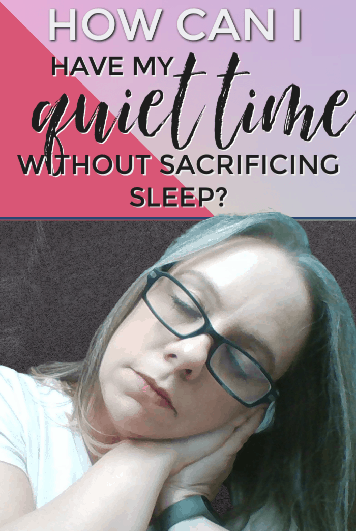"""In today's podcast I answer the question: """"How can I have my quiet time without sacrificing sleep?"""" and address if we can have quiet time at another part of the day. #alittlerandr #quiettime #bible #readthebible #Christianliving via @alittlerandr"""