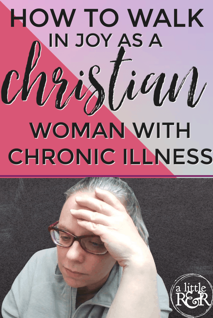 We are taught to push hard to reach our goals. In today's podcast I share how a Christian woman can walk in joy with chronic illness. #alittlerandr #chronicillness #fatigue #chronicfatigue #adrenalfatigue via @alittlerandr