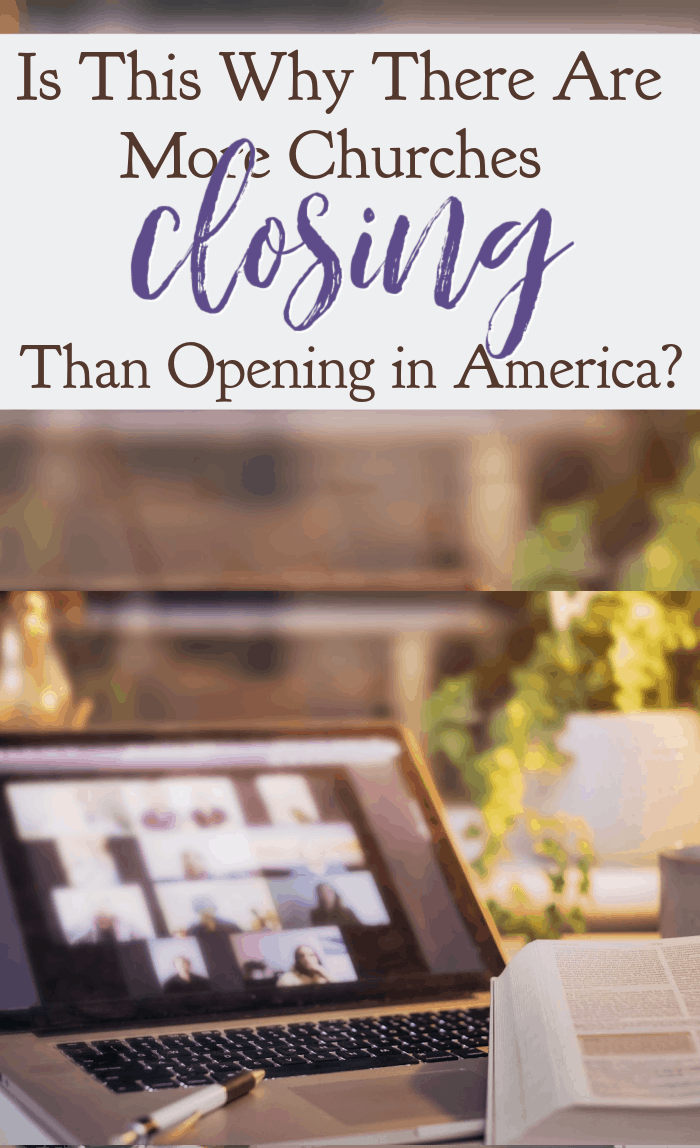 Lifeway Research revealed that more church are closing than opening in America. Could it be the result of this one thing? #alittlerandr #churches #revival #reformation via @alittlerandr