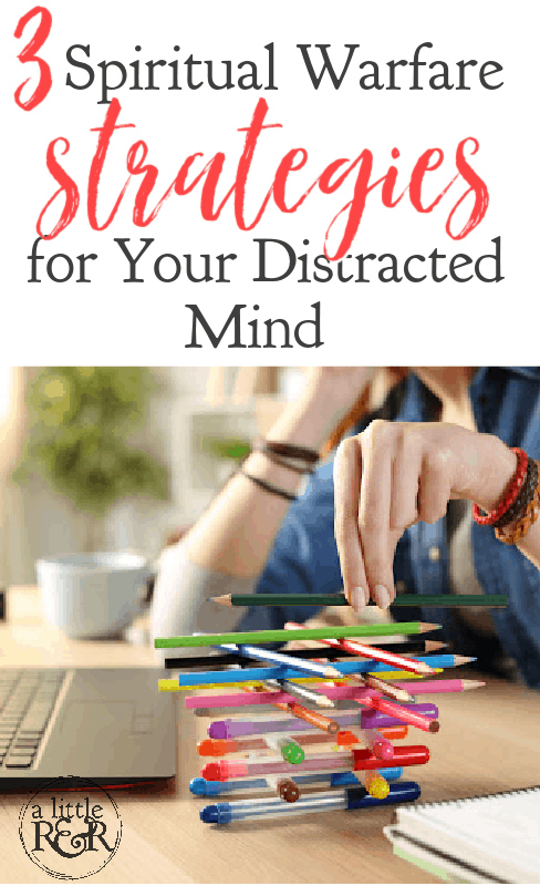 As Christians, we are in a constant battle against the distraction of media. Here are spiritual warfare strategies for your distracted mind. #alittlerandr #spiritualwarfare #socialmedia #influencers #stimulation #brain via @alittlerandr