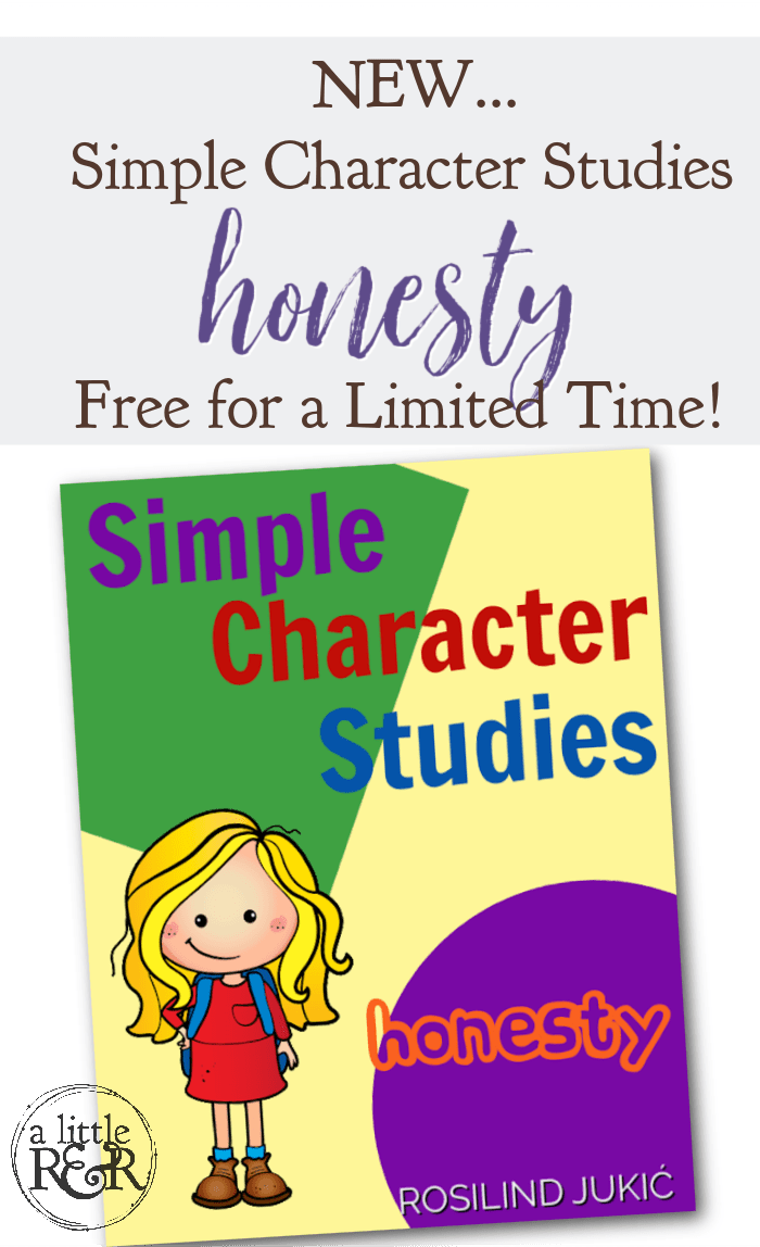 This Simple Character Studies - Honesty is a 20-page pack of Bible stories, activities, and games to help your children learn the quality of honesty. #alittlerandr #character #honesty #homeschooling #Bible #curriculum via @alittlerandr