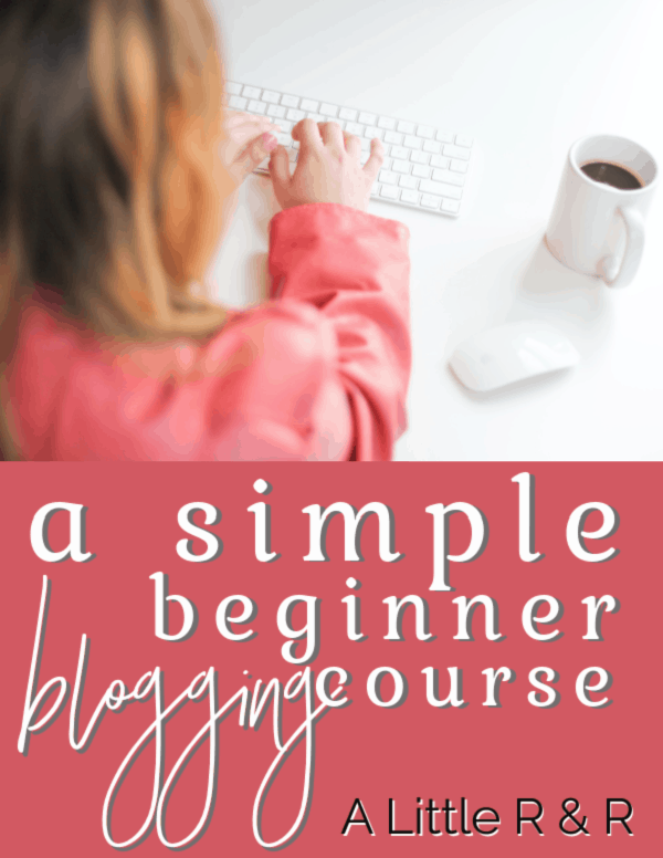 Have you considered becoming a blogger? Here's my story about how I became a blogger and a blogger course I've designed to help you get started and succeed. #alittlerand #blogging #ecourse #workshop via @alittlerandr