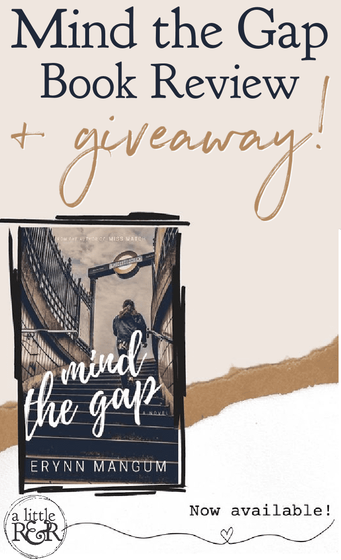 Here is my review of the book Mind the Gap by Erynn Mangum - a Christian rom-com about Kate who joins her Gran on a trip to London where she finds more than just romance! #ErynnMangum #bookreview #christanromance via @alittlerandr